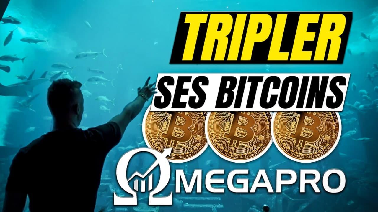 Tripler ses bitcoins Omega Pro Cryptomonnaies Dr Trader